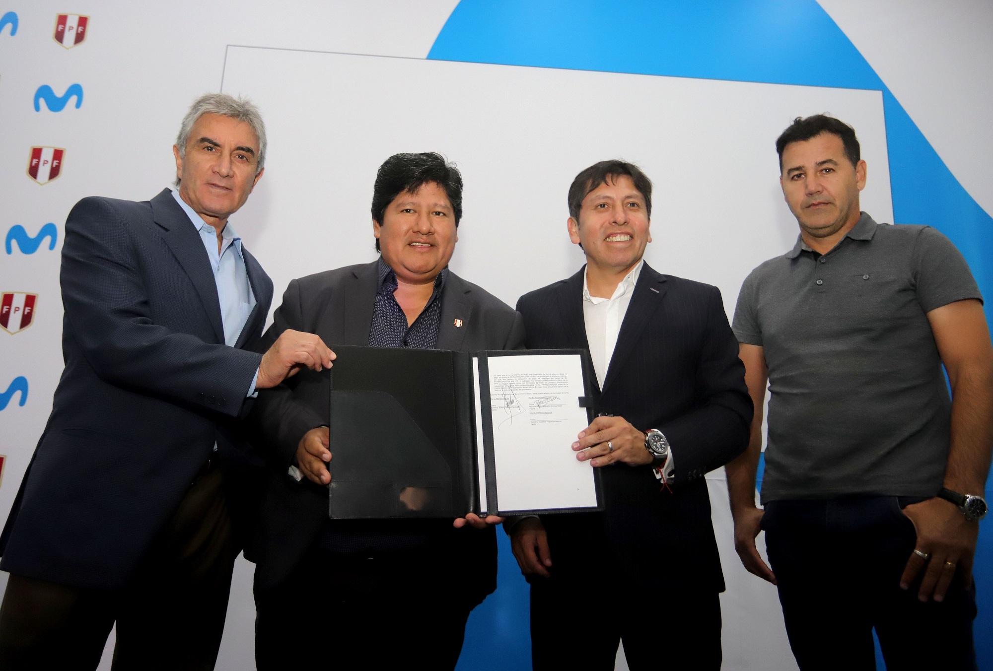 Movistar es el nuevo Patrocinador Oro de la Selección Peruana de Fútbol