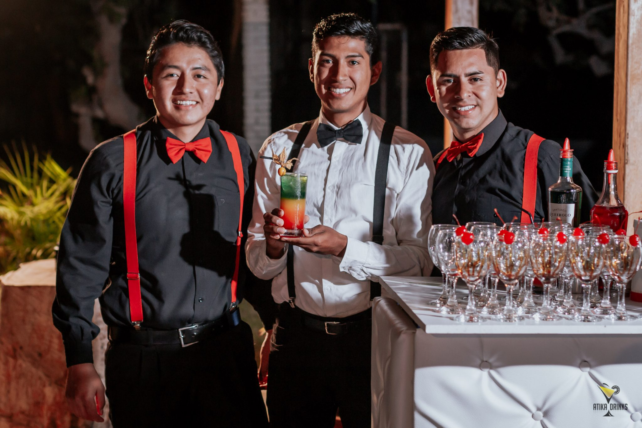 Atika Drinks: Expertos en catering de bar